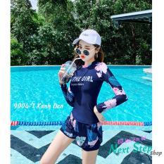 Đồ bơi nữ quần rời chân váy kiểu dáng dễ thương
