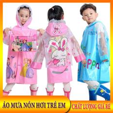 Áo mưa trẻ em -Áo mưa bé trai – Áo mưa bé gái – Tặng kèm túi đựng xinh xắn – Áo mưa nón hơi ngoại nhập chất lượng giá rẻ.New Vision