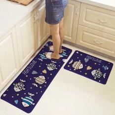 Combo 02 thảm trải sàn nhà bếp ( 120×40 cm và 60×40 cm) In Hình Sắc Nét, Nhiều Màu Sắc Giúp Che Đi Những Vết Bẩn Dầu Mỡ