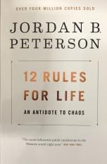 Sách Ngoại Văn – 12 Rules For Life: An Antidote To Chaos – Jordan B. Peterson