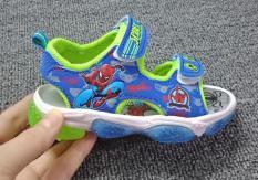 sandal bé trai size 20-31 siêu nhân nhện