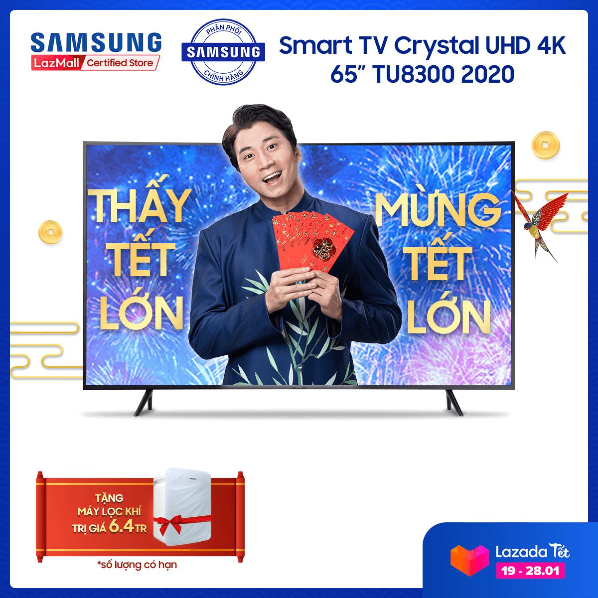 Smart TV Samsung Crystal UHD 4K 65 inch TU8300 2020 – TV