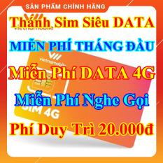 Thánh Sim Siêu Data 4G – Miễn Phí DATA 4G – Miễn phí tháng đầu tiên – Miễn Phí Gọi Nội Mạng – Phí Duy Trì 20.000đ – Shop Lotus Sim Giá Rẻ