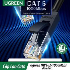 Cáp Mạng Đúc Sẵn Cat6 UTP 1000Mbps Cao Cấp UGREEN NW102 Chính Hãng