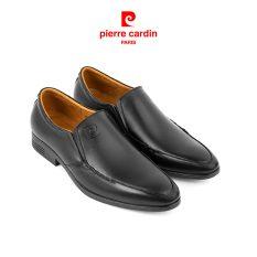 [ĐỘC QUYỀN CHÍNH HÃNG] Giày Tây Pierre Cardin không dây da bò nhập khẩu Italia, đế giày xẻ rãnh chống trượt, thiết kế vừa vặn, sang trọng, lịch lãm, lót da cao cấp chống hôi chân PCMFWL 704