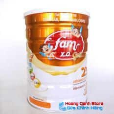 Sữa FAM XO GOLD 900g – Sữa tăng cân – Sữa phát triển chiều cao cho bé (Sữa cho bé từ 1 tuổi)