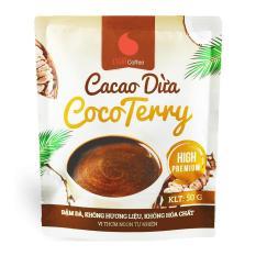 Cacao dừa CocoTerry , thơm ngon , đậm đà đặc biệt không pha trộn hương liệu Gói 50g