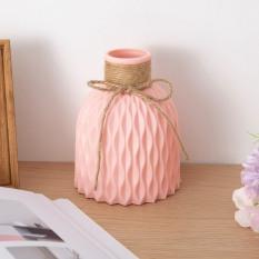 Lọ hoa nhựa để bàn trang trí cắm hoa giả – LH55