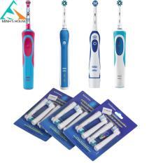 Bàn chải đánh răng điện Oral -B Tặng kèm 1 Bộ 4 đầu thay thế Haininhshop