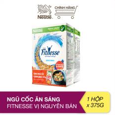 [Tặng 1 hộp Cornflakes 275g] Ngũ cốc ăn sáng Fitnesse vị nguyên bản (hộp 375g)