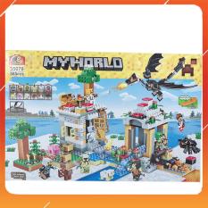 Đồ Chơi Noel – Xếp Hình Thông Minh Mine Craft 35070 – Đồ Chơi Trẻ Em Toy Mart