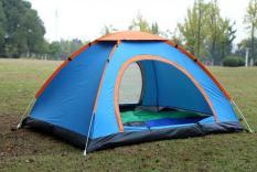 Lều cắm trại du lịch 2 lớp chống muỗi, côn trùng sắc màu cao cấp sử dụng cho 2-3 người 200*150*110cm