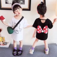 Váy bé gái xuông nơ Mickey XHN540