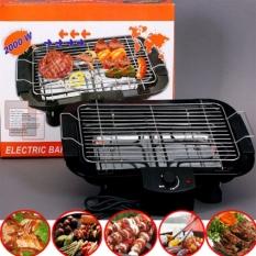 Bếp Nướng Điện Cao Cấp Không Khói Electric Barbecue Grill 2000W, An Toàn Chống Giật,5 Mức Điều Chỉnh Nhiệt. Phù Hợp Với Mọi Không Gian, Trong Gia Đình Hay Những Buổi Tiệc Ngoài Trời Cao Cấp.