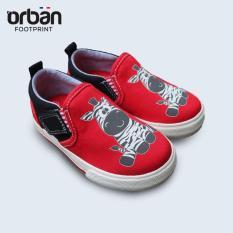 Giày Slipon bé trai Urban UB1902 đỏ