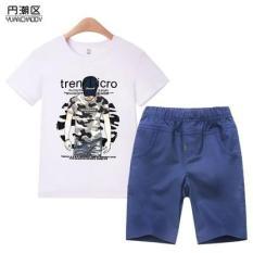 [Sale] Set đồ bộ áo phông+quần kaki dành cho bé trai
