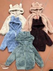 SALE – Áo khoác lông cho bé ấm áp mềm mịn (4-16kg)