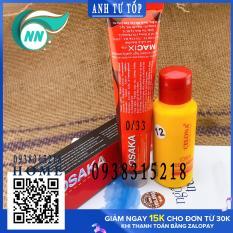 Thuốc Nhuộm Tóc OSAKA+ Bình 100ml Oxy 12 tặng kèm Với Tổng Hợp Màu Đẹp Nhất Lựa Chọn Mẫu Màu Giá Rẽ