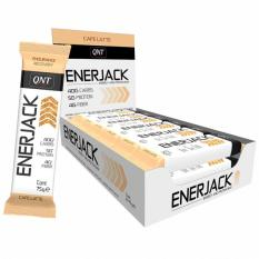 ENERJACK BAR CAFE LATTE 12 X 75 G
