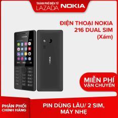 Điện thoại Nokia 216 Dual sim – Màu Đen