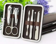Bộ tỉa móng tay có kìm bấm móng, kìm cắt móng, kéo tỉa lông mũi , nhíp ,cây dũa móng mini đồ nghề làm móng dụng cụ làm móng tại nhà