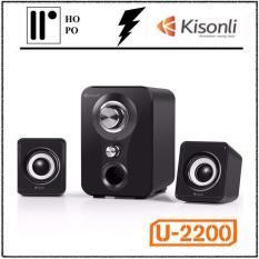 Loa Vi Tính Kisonli U-2200 – BH 1 Đổi 1 – 10 tháng + 2