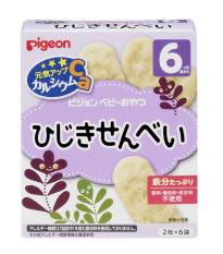 Bánh ăn dặm Pigeon vị rong biển cho bé từ 6 tháng (hộp 6 gói) – Bánh gạo Nhật cho bé bổ xung canxi – VTP mẹ và bé TXTP017