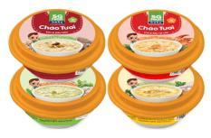 Combo Cháo tươi Baby Sài Gòn Food ( Ếch – Cua gấc – Sò điệp – Gà thảo mộc) 240g x 4 chén