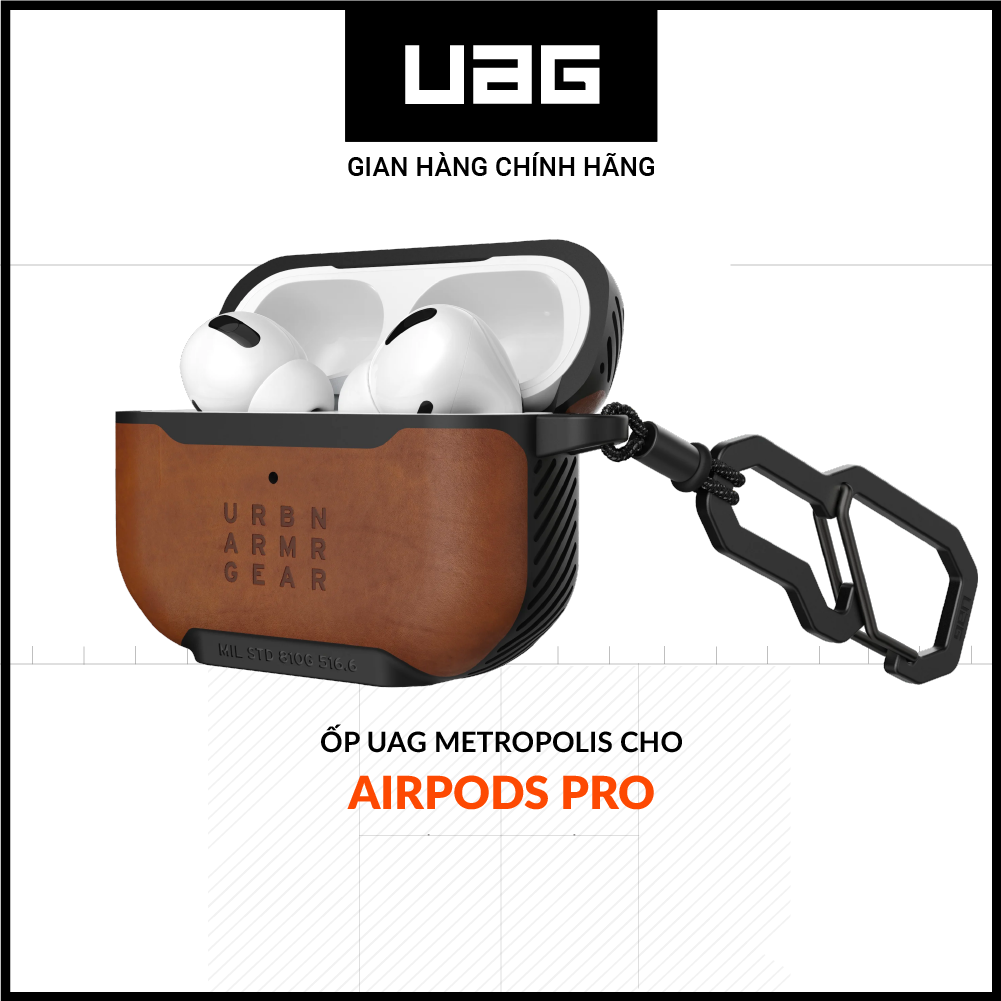 Ốp UAG Metropolis cho Airpods Pro
