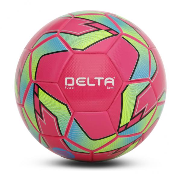 Bóng Đá Futsal 3641 Delta màu hồng 3641- Size 4 Tặng Kim Và Lưới Đựng Bóng
