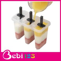 Bộ 3 khuôn làm kem Inomata Nhật Bản
