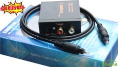 Bộ chuyển đổi âm thanh quang sang AV SAMMEDIA kèm dây quang