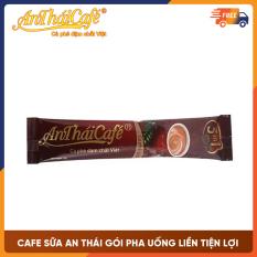 Cà phê sữa 3in1 An Thái, gói pha pha uống liền tiện lợi, vị thơm ngon không pha trộn hương liệu Gói 18gr – AnTháiCafé