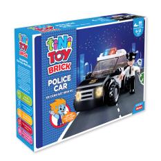 Đồ chơi lắp ráp xe cảnh sát hình sự tiNiToy, cho bé từ 5 tuổi, gồm nhiều mảnh ghép kích thích sáng tạo, mô hình các loại phương tiện, đạt tiêu chuẩn Châu Âu EN71, an toàn cho bé