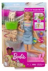 Búp Bê Barbie Cùng Thú Cưng Tinh Nghịch