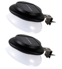 Bộ 2 đèn trang trí năng lượng mặt trời NEW SOLAR 9 led(as trắng)