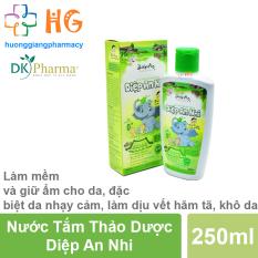 Nước tắm thảo dược Diệp An Nhi – Làm sạch và bảo vệ da, ngăn ngừa các vết chàm, rôm sảy mụn nhọt, viêm da