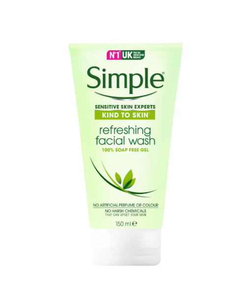 Sữa rửa mặt Simple Kind to Skin Refreshing Facial Wash 150ml