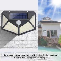 Đèn 100 Led Pha Năng Lượng Mặt Trời Cảm Biến (KIM) – LEON STORE – Đèn Led Năng Lượng Mặt Trời, Dễ Dàng Lắp Đặt, Thiết Kế Kính Cường Lực Sang Trọng.