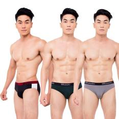 [iBasic] Combo 3 quần nam brief poly PANM006