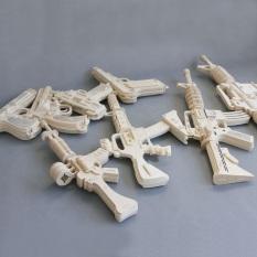 Đồ chơi lắp ghép gỗ 3D Mô hình Đồ chơi Quân sự