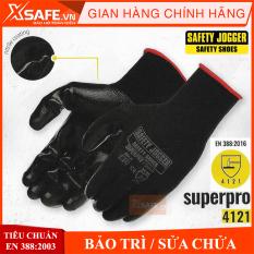 Găng tay chống dầu JOGGER SUPERPRO (1 ĐÔI), găng tay bảo hộhoàn hảo để tăng hiệu suất làm việc khi thao tác với các chi tiết có dầu, dính dầu, găng tay, tiện dụng, chất lượng
