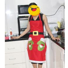 Tạp dề nhà bếp Noel cao cấp – MIA SHOP