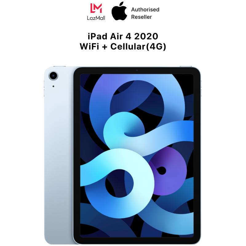 iPad Air 4 2020 10.9-inch WiFi + Cellular(4G) – Hàng Chính Hãng