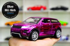 Xe mô hình SUV Range Rover Evoque 1:32 Crom tím