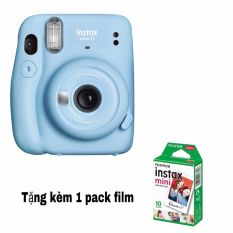 Máy chụp ảnh lấy ngay Fujifilm Instax Mini 11- Chính hãng- Tặng 1 pack film mini