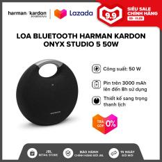 [TRẢ GÓP 0%] Loa Bluetooth Harman Kardon Onyx Studio 5 50W l Âm bass dày chắc khỏe l Thời gian phát nhạc liên tục đến 5 giờ l HÀNG CHÍNH HÃNG