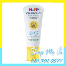 Kem chống nắng an toàn cho trẻ em HiPP Organic 50g