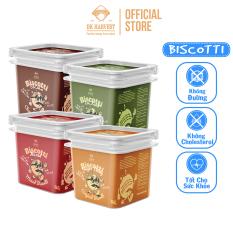 Bánh Biscotti dinh dưỡng Eat Clean DK Harvest 220G – Giòn xốp, thơm ngon, phù hợp cho người ăn kiêng, chơi thể thao, người tiểu đường