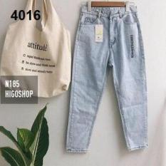Quần Baggy Cao cấp Quần Jean nữ Hot 2019 BGJ4016